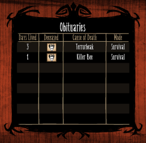 Don't starve Day Z Death no.2
